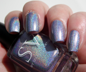 holographic, nail polish, and swatch image