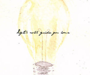 coldplay, light, and quote image