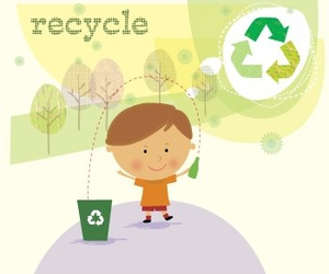 earth day, recycle, and save the earth image