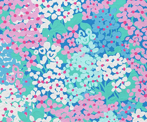 wallpaper, flowers, and print image
