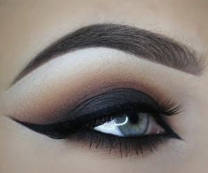 eyebrow, makeup, and eyeshadow image
