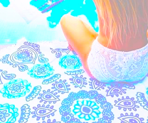 pastel and vibrant image
