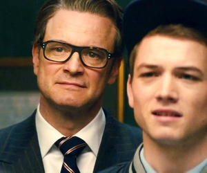 british, taron egerton, and Colin Firth image