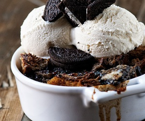 food, dessert, and ice cream image
