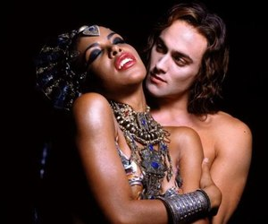 Queen of the Damned, aaliyah, and vampire image