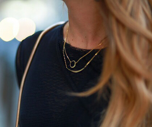 fashion, necklace, and classy image