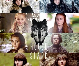 got, winterfell, and winter is coming image