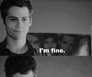 teen wolf, dylan o'brien, and sad image