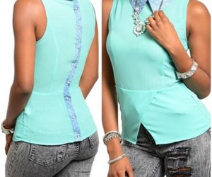 tops, ustrendy, and sleeveless tops image