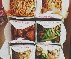 food, chinese, and yummy image