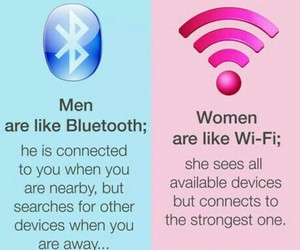 bluetooth, woman, and men image