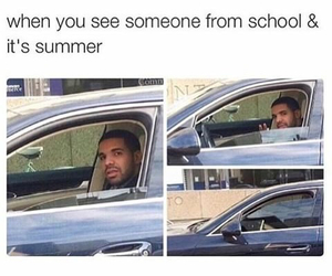 funny, car, and summer image