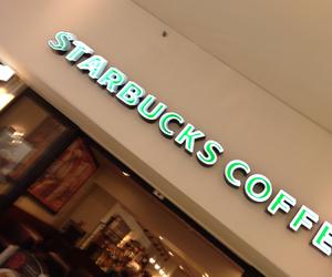 coffe, starbucks, and love image