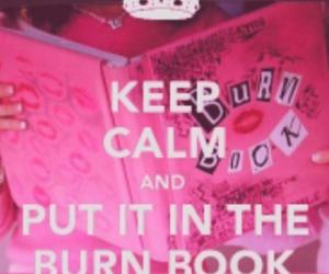 keep calm, mean girls, and pink image