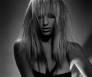 black and white, boudoir, and glamour image