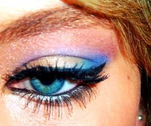 blue eyes, colorful, and eyes image