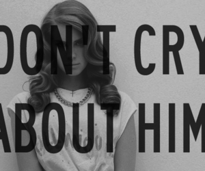 lana del rey, cry, and quote image