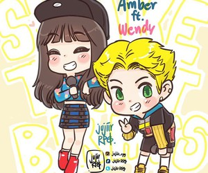 amber, wendy, and red velvet image