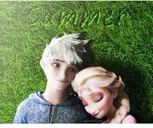 jack frost, jelsa, and cute image