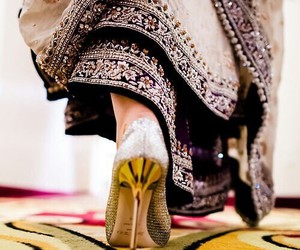 bridal, heels, and high heels image
