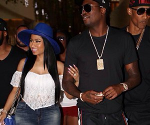 nicki minaj, meek mill, and love image
