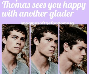 thomas, fandoms, and the maze runner image
