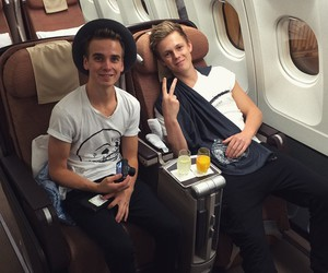 joe sugg, caspar lee, and jaspar image