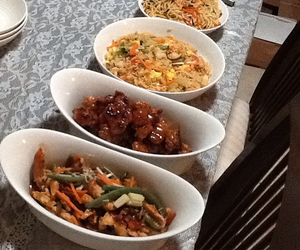 Chicken, chinese, and dinner image