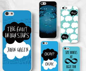 cases, iphone, and the fault in our stars image