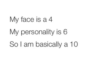 10, personality, and face image