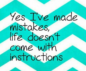 quote, mistakes, and instructions image