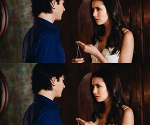 moments, delena, and tvd image