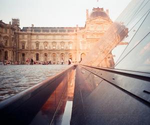 paris, city, and louvre image
