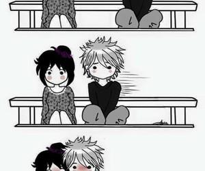 love, anime, and hug image