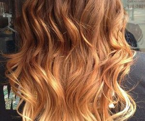 blonde, curly, and hair style image