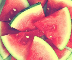 food, summer, and fruit image