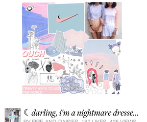 blue, darling, and fashion image