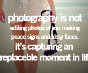 photography and words image