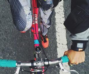 fitness, bike, and sport image