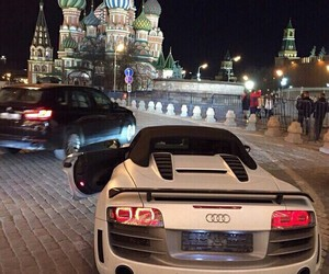 audi, moscow, and russia image