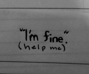 alone, help, and sad image