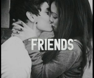 amor, boyfriend and girlfriend, and friends image