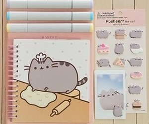 pusheen, stickers, and cute image