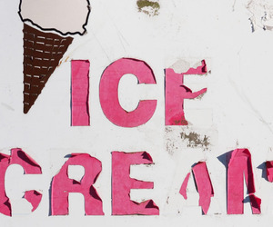 ice cream, draw, and pink image