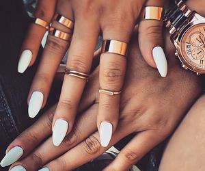 fashion, girl, and long nails image
