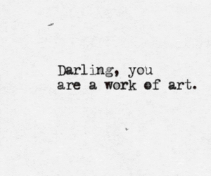 quotes, art, and darling image