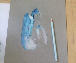 art, beautiful, and colored pencil image