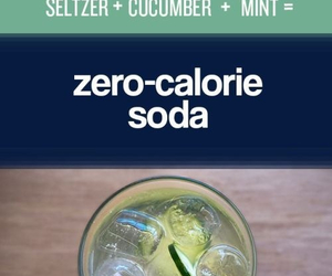 soda, fitness, and diet image