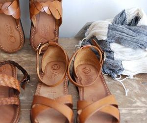 style, clothes, and sandals image