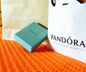 Michael Kors, pandora, and shopping image